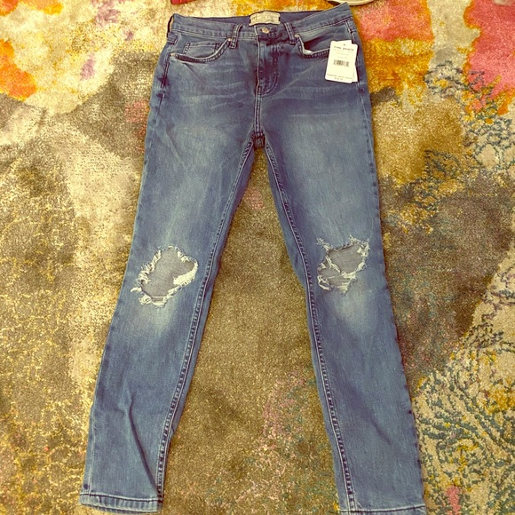 Free People Pants - Free people distressed skinny jeans